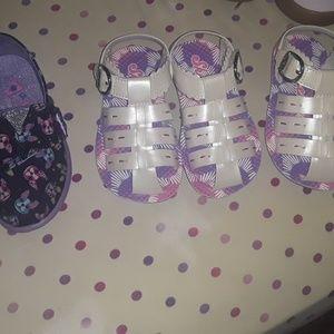 Size 6 toddler skechers sandals